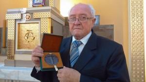 Pan Kazimierz zwyjątkowym medalem